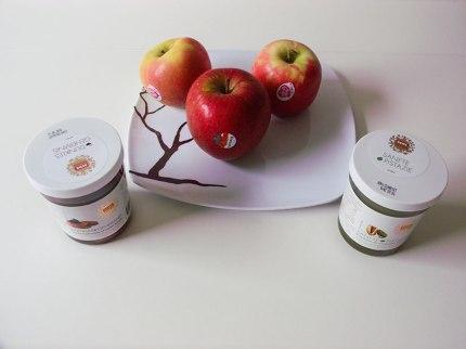 Zutaten Apfelscheiben mit Creme