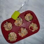 Muffinteig in Muffinform